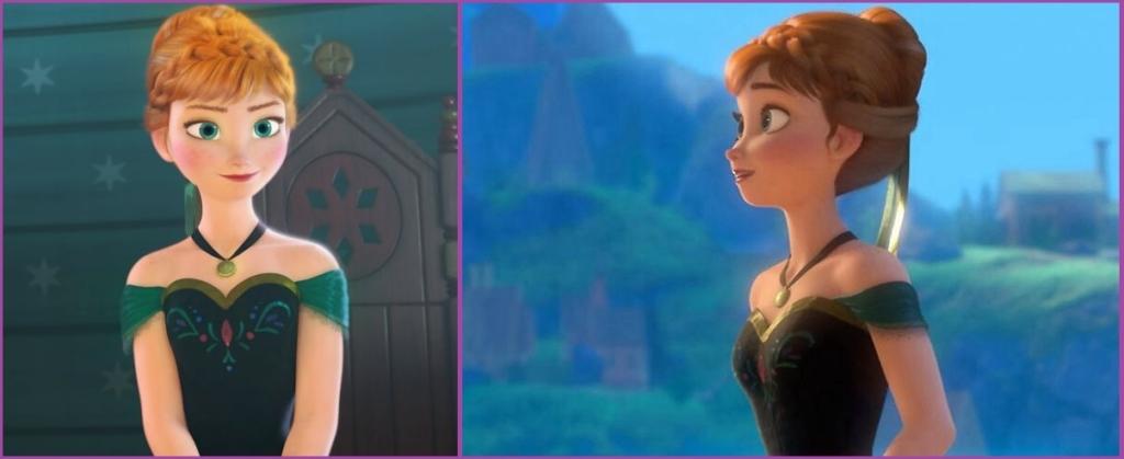 La princesa Anna nos presta su peinado- Peinados de evento para niñas