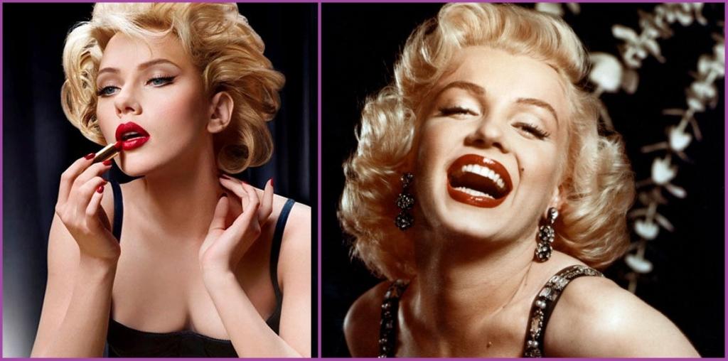 Marilyn Monroe lucía como nadie este peinado pin up para fiestas- Peinados de los 50 para mujeres pin up
