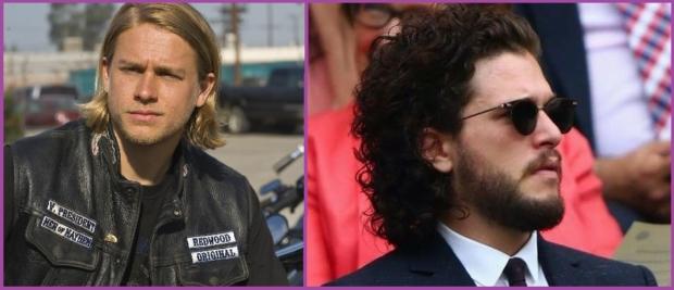 Charlie Hunnam y Kit Harington, cuidan su pelo largo- Soy hombre y quiero dejarme el pelo largo