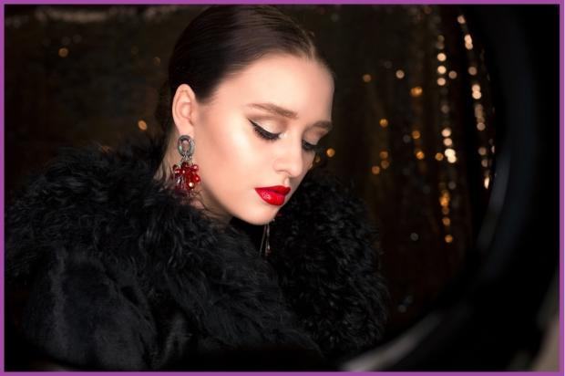 Los labios rojos, el color fetiche de estas fiestas- Maquillaje para nochevieja