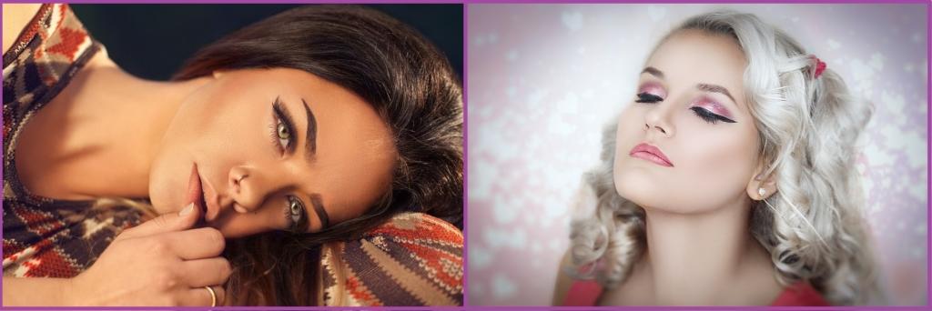 Los labios en tonos Nude o la tendencia glitter, te darán el máximo glamour- Maquillaje para nochevieja