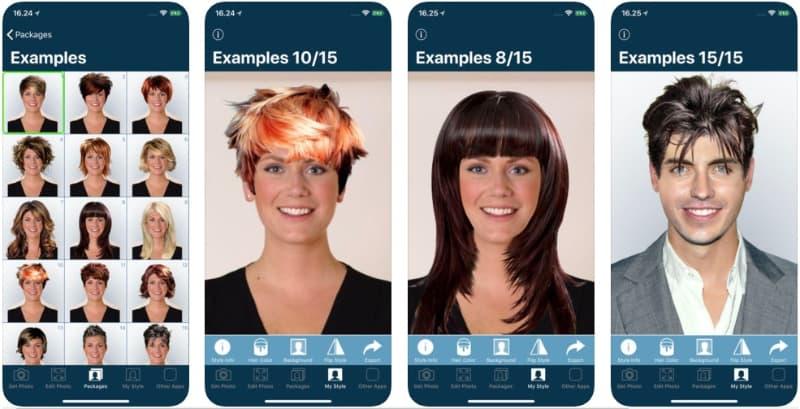 App Hairstyle Try On en peinadosde10