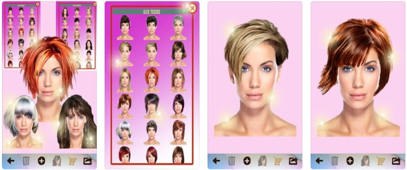 App Perfect Mirror For a New Hair peinadosde10