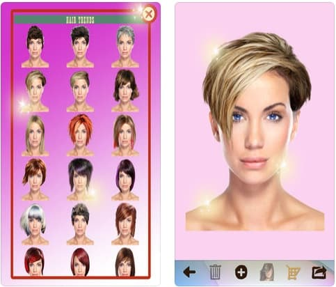 App Perfect Mirror For a New Hair