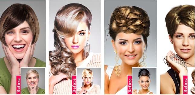 App Women Hairstyles en peinadosde10