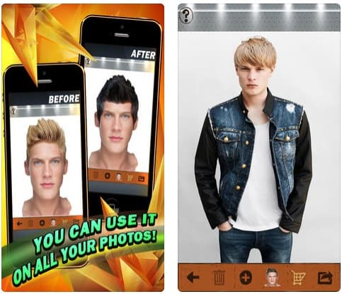 App Your Perfect Hairstyle for Men