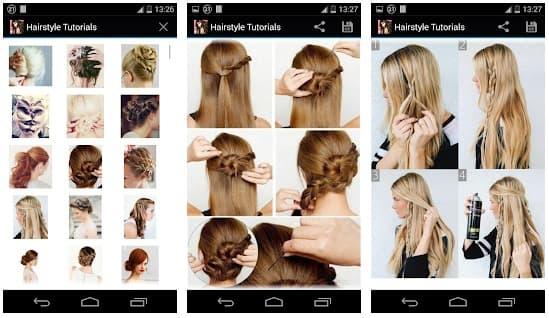 App aprender peinados paso a paso