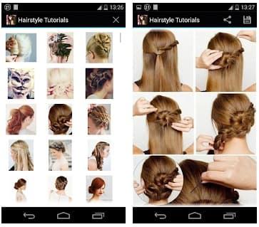 App peinados paso a paso peinadosde10