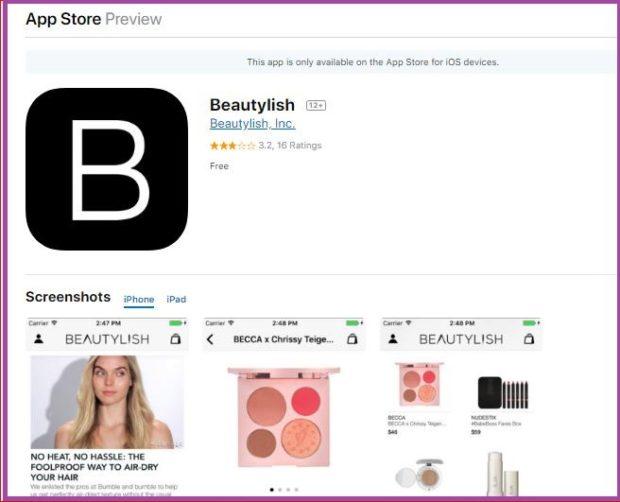 Beautylish: aprende las últimas tendencias en maquillajes y peinados- 9 apps de maquillaje que triunfan en 2019- Peinados de 10