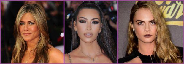 Da un aspecto más bronceado a tu make up como hace Jennifer Aniston o Kim Kardashiam- Nos encantan los tierra
