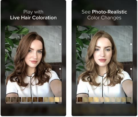 Hair Color modiface en peinadosde10