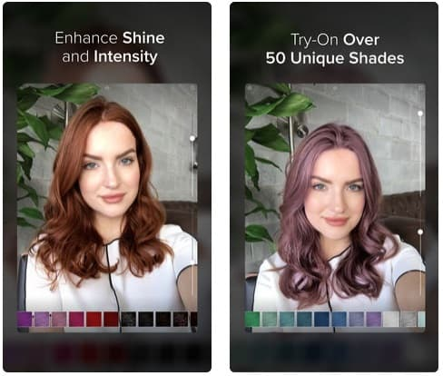 App para cambiar color de cabello iphone