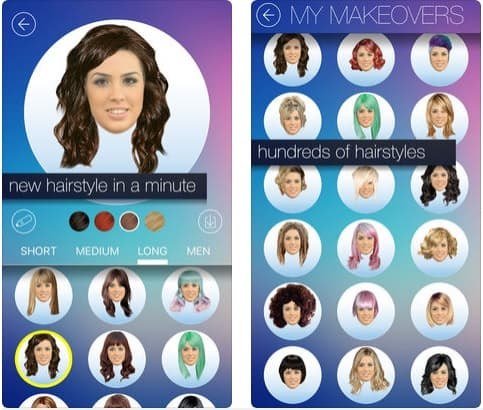 Hair MakeOver app peinadosde10