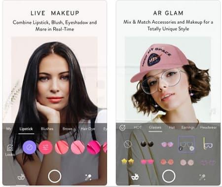 MakeupPlus app maquillaje en peinadosde10
