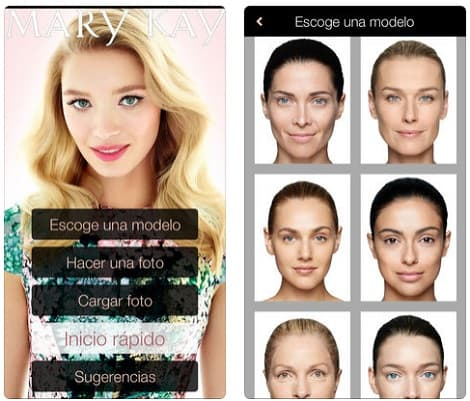 Maquillaje Virtual Mary Kay