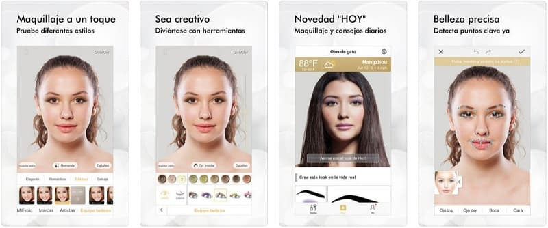 Perfect365 app maquillaje