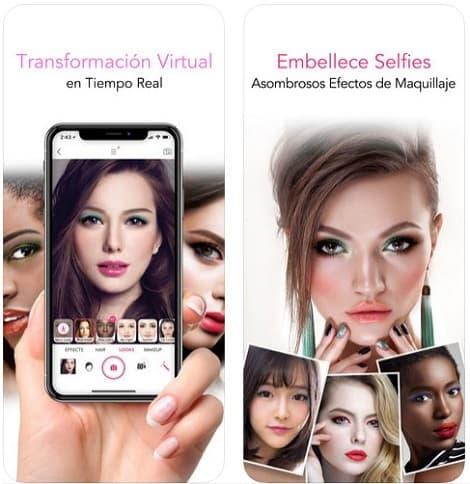 YouCam Makeup- Magi-Cam Selfie