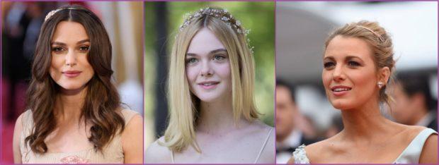 Blake Lively, Keira Knightly o Elle Fanting, llevan las diademas con mucho estilo- Accesorios de pelo para bodas en primavera