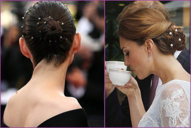 Horquillas de brillantes- Accesorios de pelo para bodas en primavera