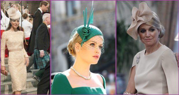 Tocados que coronan tu cabello como los de la monarquía Británica o La reina de Holanda- Accesorios de pelo para bodas en primavera