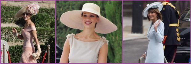 La reina de las bodas de día es la pamela- Accesorios de pelo para bodas en primavera