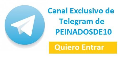 canal de telegram de peinadosde10