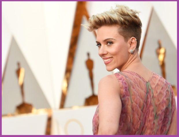 Scarlett Johansson, con un look más sofisticado- Los pendientes que más favorecen según tu corte de pelo