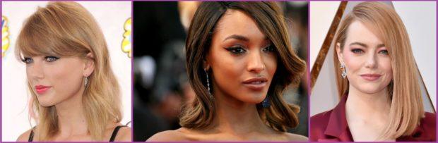 La media melena luce ideal con estos pendientes- Los pendientes que más favorecen según tu corte de pelo