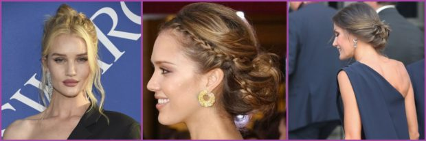 Pendientes grandes o pequeños para moños en función de tu estilo- Los pendientes que más favorecen según tu corte de pelo