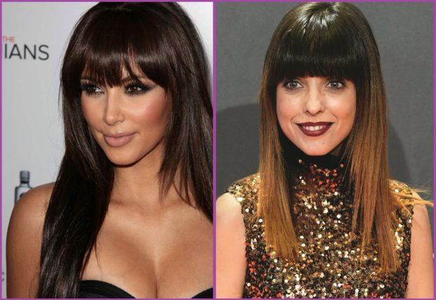 Las famosas se apuntan al flequillo postizo- Peinados con flequillo postizo- Peinados de 10