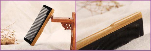 Peine desenredante LWBTOSEE, fotos de Amazon- Los 5 mejores peines para pelo largo