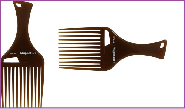 Peine de majestik+, fotos de Amazon- Los 5 mejores peines para pelo largo