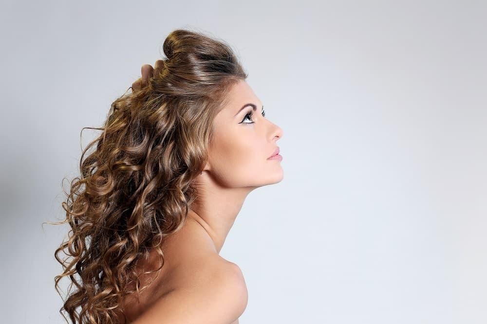 Peinados cabello rizado peinadosde10