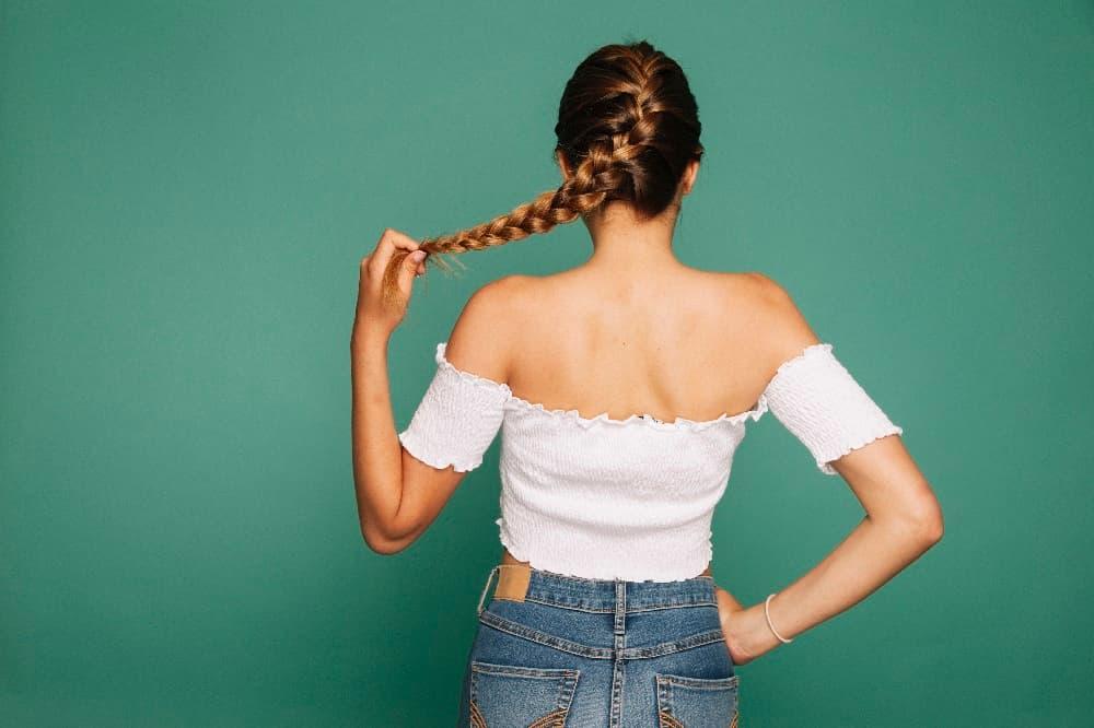 Peinados con trenza fáciles peinadosde10