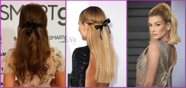 El semirecogido nunca pasa de moda- Peinados para cabello seco