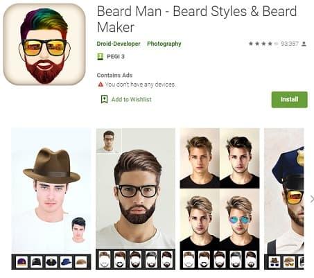 Beard Man Styles Maker Android Peinadosde10