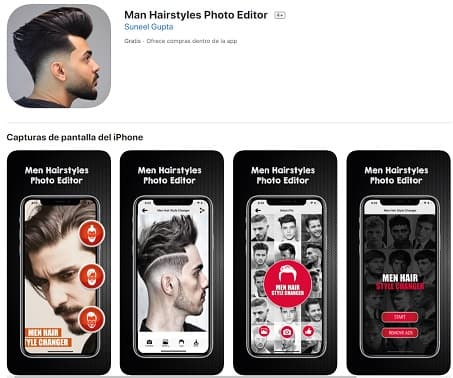 Man Hairstyles Photo Editor Apple Peinadosde10