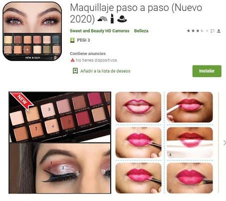Maquillaje paso a paso belleza mujer Peinadosde10