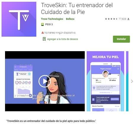 TroveSkin App belleza mujer Peinadosde10