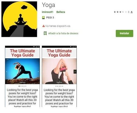 Yoga Apps belleza mujer Peinadosde10