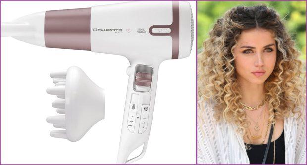 Confía en Rowenta para un rizo perfecto- Los 5 mejores secadores para pelo rizado