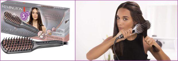 El cepillo alisador de Remington compite con los grandes- Los 5 mejores peines alisadores
