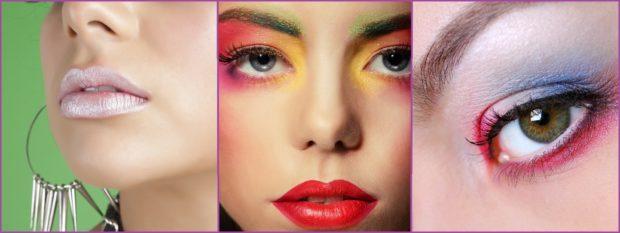El color se lleva en los ojos y el brillo en los labios- Tendencias de maquillaje para 2021